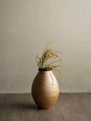 Bergamo Vase Gold Gold Black DécorHome DecorationsVases