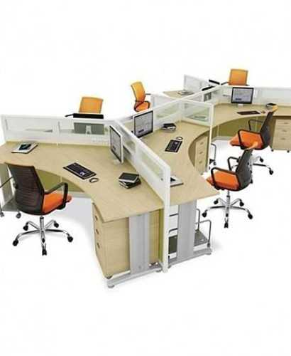 Partisi Kantor-Donati 6 Staff Y OfficeOffice Partitions