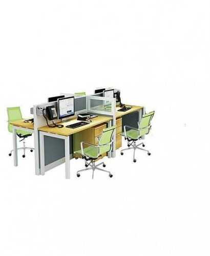 Partisi Kantor-Donati Dws4 4 Staff Hadap OfficeOffice Partitions