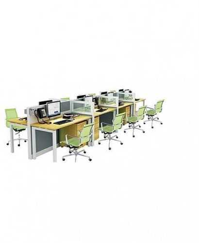 Partisi Kantor-Donati Dws8 8 Staff Hadap OfficeOffice Partitions