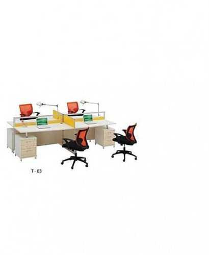 Partisi Kantor-Donati T03 4 Staff OfficeOffice Partitions