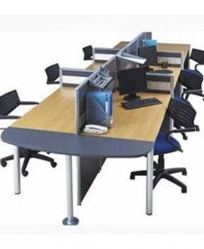 Partisi Modera-Ws 6 Staff Hadap OfficeOffice Partitions