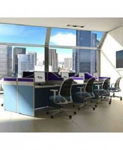 Partisi Modera-Ws 8 Staff Hadap OfficeOffice Partitions