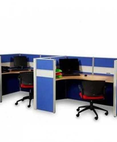 Partisi Modera-Ws Konfigurasi 2 Staff OfficeOffice Partitions