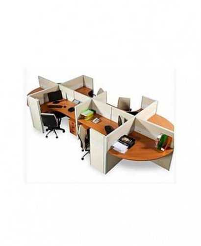 Partisi Modera-Ws Konfigurasi 4 Staff Hadap OfficeOffice Partitions
