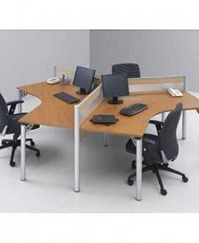 Partisi Modera-Ws Y 3 Staff OfficeOffice Partitions