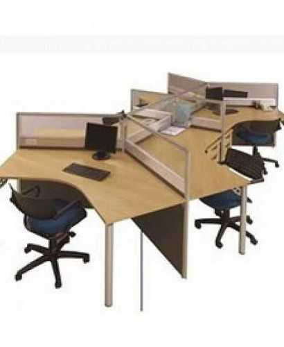 Partisi Modera-Ws Y 6 Staff OfficeOffice Partitions