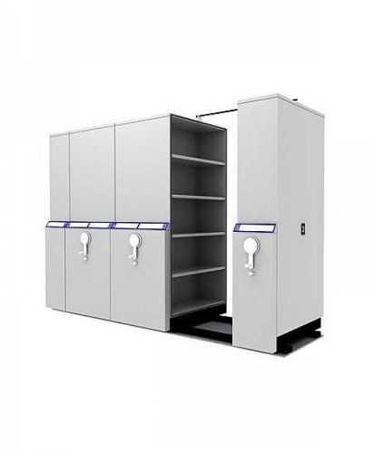 Lemari Kantor-Mobile File  Compacto S6 Mekanik OfficeOffice Storage Units