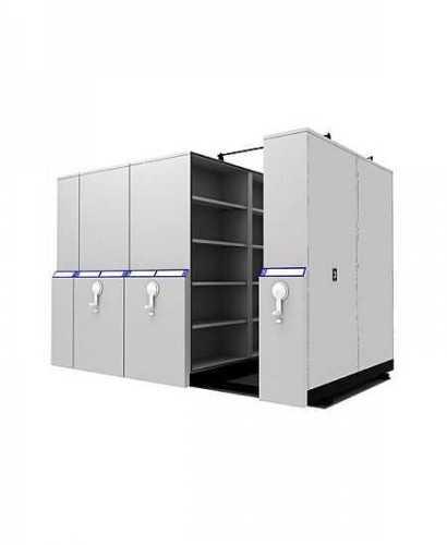 Lemari Kantor-Mobile File Compacto Tw6 Mekanik OfficeOffice Storage Units