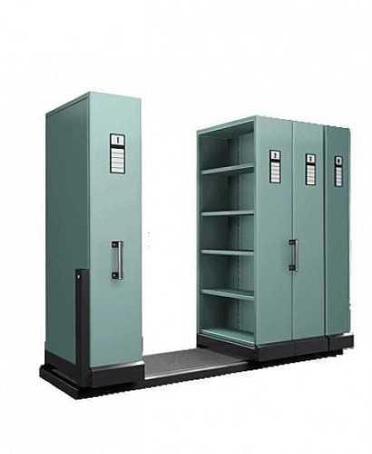 Lemari Kantor-Mobile File Alba Manual Mf-4-18 ( 16 Cpts ) OfficeOffice Storage Units