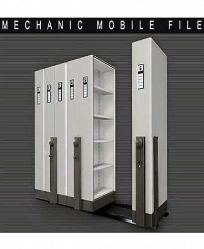 Lemari Kantor-Mobile File System Mekanik Alba Mf-Aum 1-02 (30 Cpts) OfficeOffice Storage Units