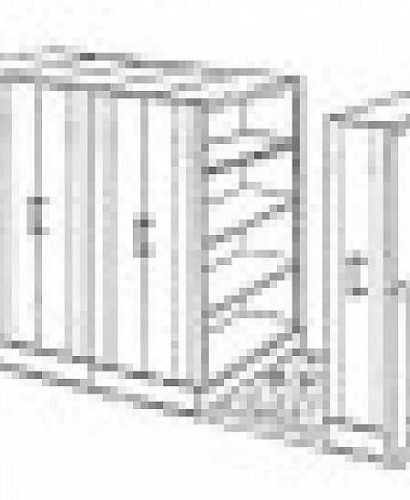 Lemari Kantor-Mobile File System Manual Elite Mf-100-40 (24 Cpts) OfficeOffice Storage Units