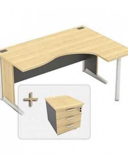 Meja Kantor-Modera  Bsd 111 6R OfficeOffice Desks