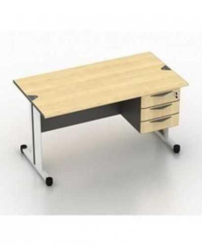 Meja Kantor-Modera Sod 7512 + Laci OfficeOffice Desks