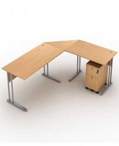 Meja Kantor-Top Xd-004 W OfficeOffice Desks