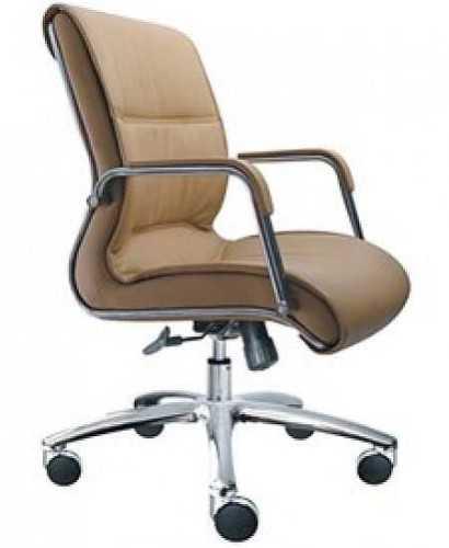 Kursi Kantor-Donati Manggo 2 Al Hdt Leather  FurnitureTables And ChairsChairs