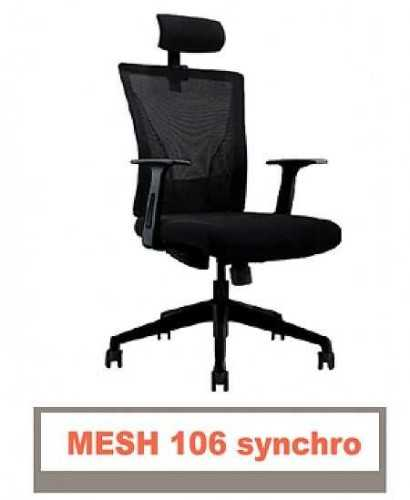 Kursi Kantor-Carrera Mesh 106 Synchro FurnitureTables And ChairsChairs