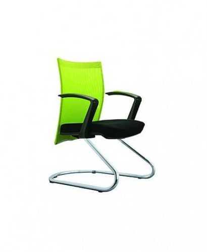 Kursi Kantor-Indachi D-3013 Ua Cr FurnitureTables And ChairsChairs
