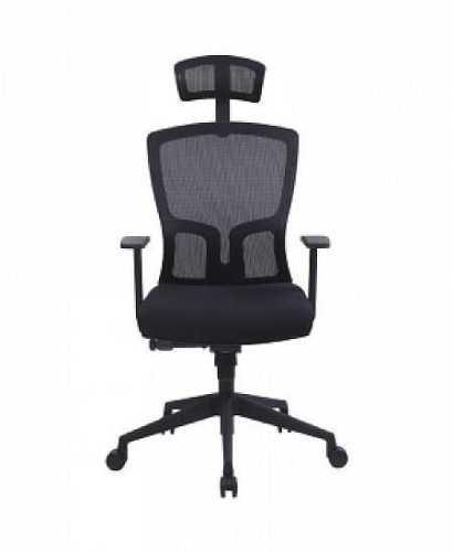 Kursi Kantor-Zao  Idea Hr Black FurnitureTables And ChairsChairs