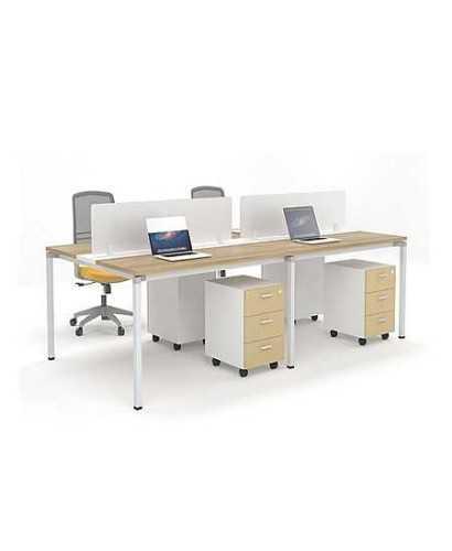 Meja Kantor-Highpoint Metric 04 OfficeOffice Desks