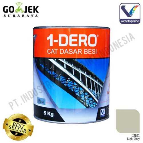 1Dero Primer Besi Warna Light Grey Netto 5 Kg ConstructionPaints And VarnishesMetal Treatments