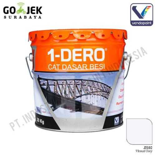 1Dero Primer Besi Warna Vibrant Grey Netto 20 Kg ConstructionPaints And VarnishesMetal Treatments
