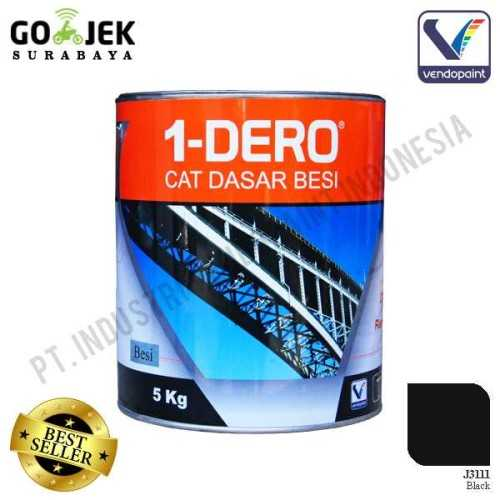 1Dero Primer Besi Warna Black Netto 5 Kg ConstructionPaints And VarnishesMetal Treatments