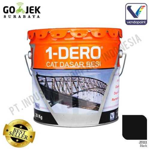 1Dero Primer Besi Warna Black Netto 20 Kg ConstructionPaints And VarnishesMetal Treatments