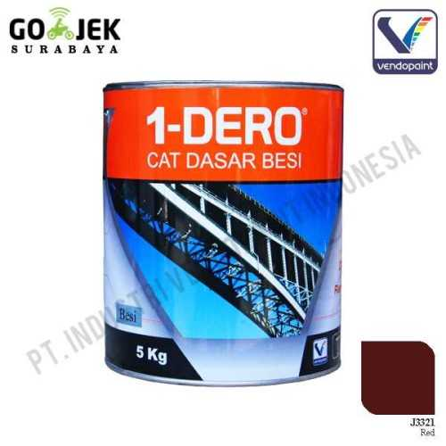 1Dero Primer Besi Warna Red Netto 5 Kg ConstructionPaints And VarnishesMetal Treatments