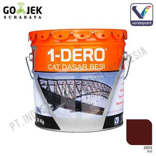 1Dero Primer Besi Warna Red Netto 20 Kg ConstructionPaints And VarnishesMetal Treatments