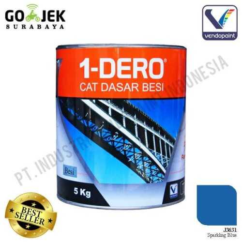 1Dero Primer Besi Warna Sparkling Blue Netto 5 Kg ConstructionPaints And VarnishesMetal Treatments