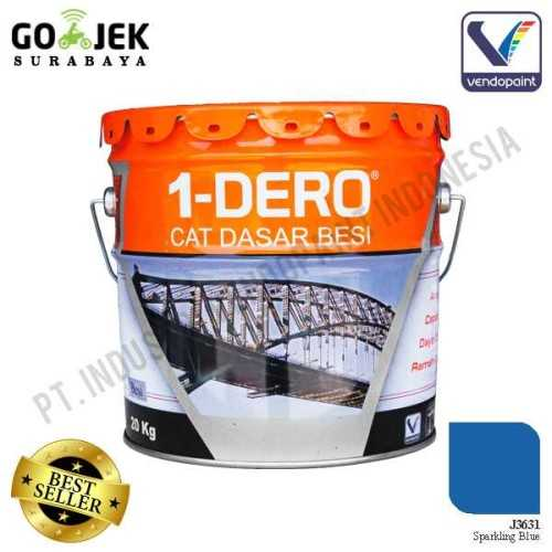 1Dero Primer Besi Warna Sparkling Blue Netto 20 Kg ConstructionPaints And VarnishesMetal Treatments