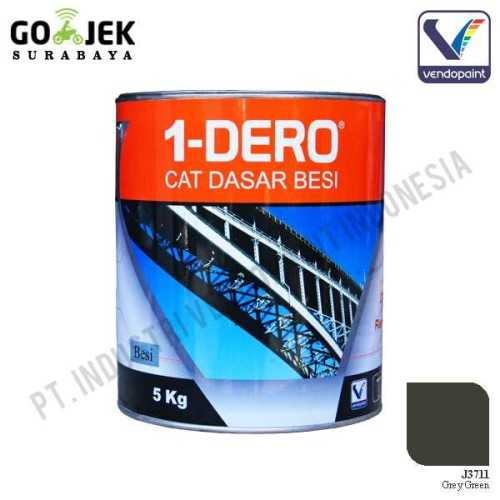 1Dero Primer Besi Warna Grey Green Netto 5 Kg ConstructionPaints And VarnishesMetal Treatments