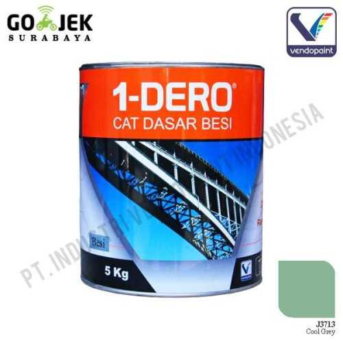 1Dero Primer Besi Warna Cool Grey Netto 5 Kg ConstructionPaints And VarnishesMetal Treatments