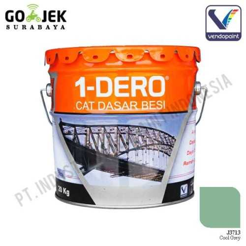 1Dero Primer Besi Warna Cool Grey Netto 20 Kg ConstructionPaints And VarnishesMetal Treatments