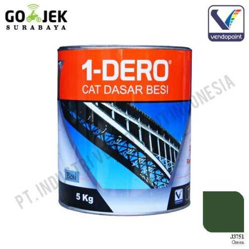 1Dero Primer Besi Warna Green Netto 5 Kg ConstructionPaints And VarnishesMetal Treatments