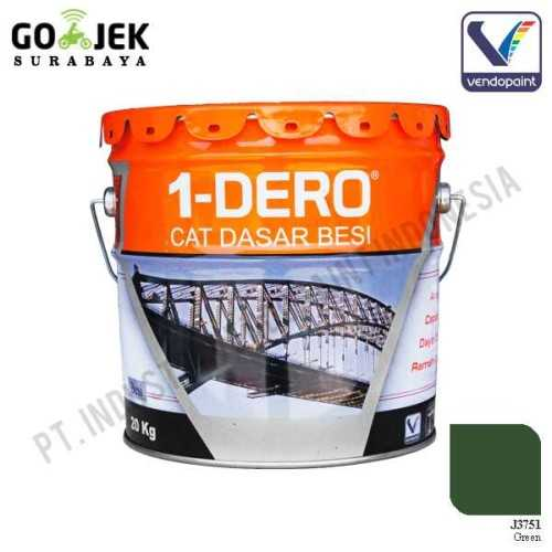1Dero Primer Besi Warna Green Netto 20 Kg ConstructionPaints And VarnishesMetal Treatments