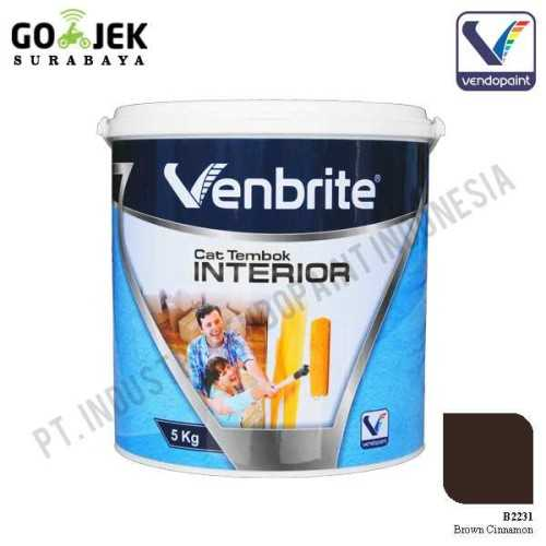Venbrite Interior Warna Brown Cinnamon 5 Kg ConstructionPaints And VarnishesDecorative Painting Finishes