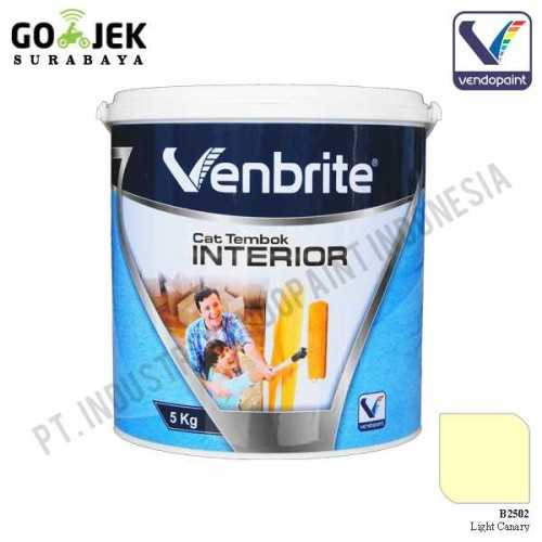 Venbrite Interior Warna Light Canary 5 Kg ConstructionPaints And VarnishesDecorative Painting Finishes