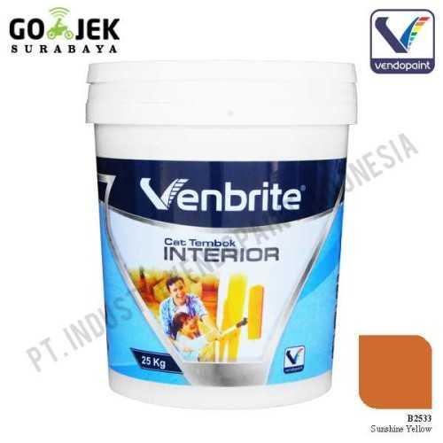 Venbrite Interior Warna Sunshine Yellow 25 Kg ConstructionPaints And VarnishesDecorative Painting Finishes
