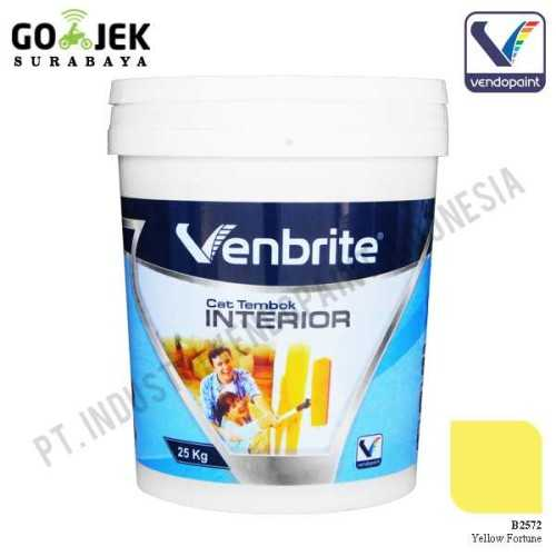 Venbrite Interior Warna Yellow Fortune 25 Kg ConstructionPaints And VarnishesDecorative Painting Finishes