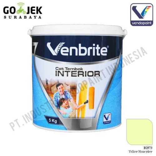 Venbrite Interior Warna Yellow Honeydew 5 Kg ConstructionPaints And VarnishesDecorative Painting Finishes