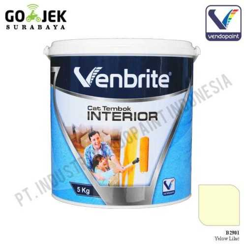 Venbrite Interior Warna Yellow Lilac 5 Kg ConstructionPaints And VarnishesDecorative Painting Finishes