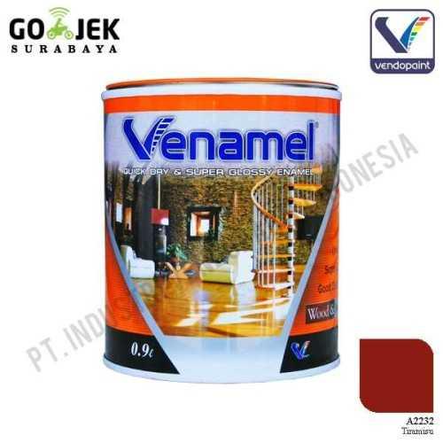 Venamel Kelas Medium Warna Tiramisu Netto 0,9 L ConstructionPaints And VarnishesWood Treatments