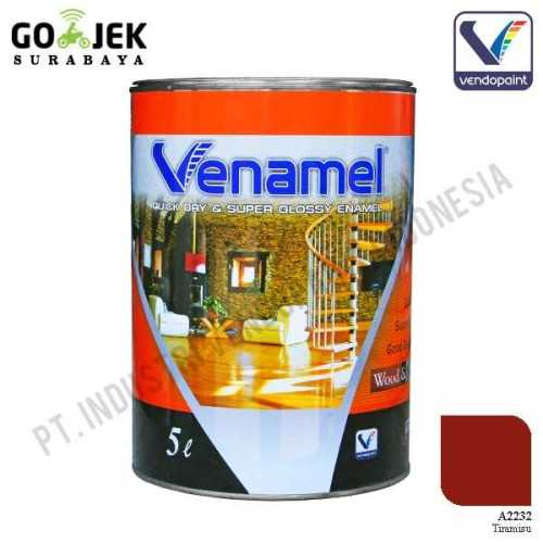 Venamel Kelas Medium Warna Tiramisu Netto 5 L ConstructionPaints And VarnishesWood Treatments