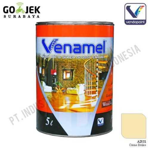 Foto produk  Venamel Kelas Medium Warna Creme Brulee Netto 5 L di Arsitag