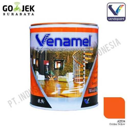 Foto produk  Venamel Kelas Medium Warna Golden Yellow Netto 0,9 L di Arsitag