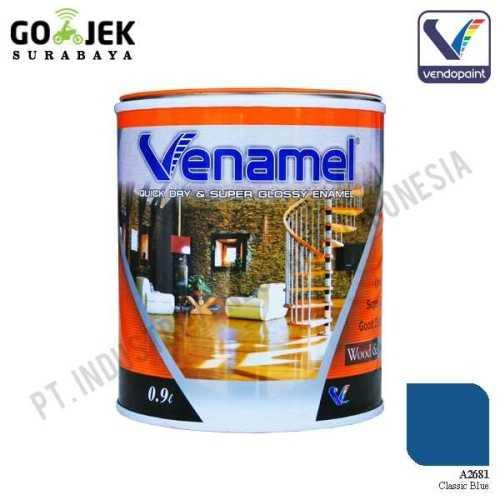 Foto produk  Venamel Kelas Medium Warna Classic Blue Netto 0,9 L di Arsitag
