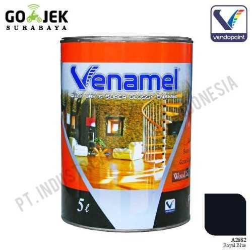 Venamel Kelas Medium Warna Royal Blue Netto 5 L ConstructionPaints And VarnishesWood Treatments