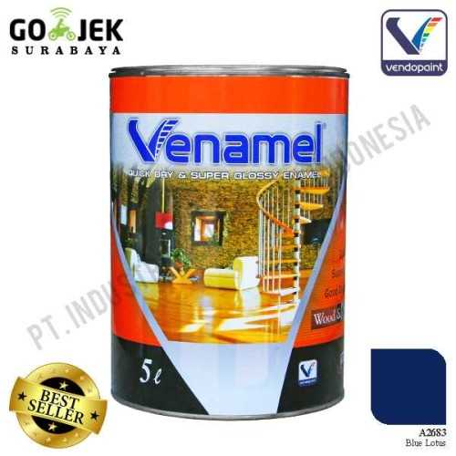 Foto produk  Venamel Kelas Medium Warna Blue Lotus Netto 5 L di Arsitag